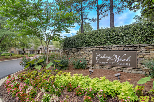 Colony Woods Apartments, Birmingham, AL - Entrance